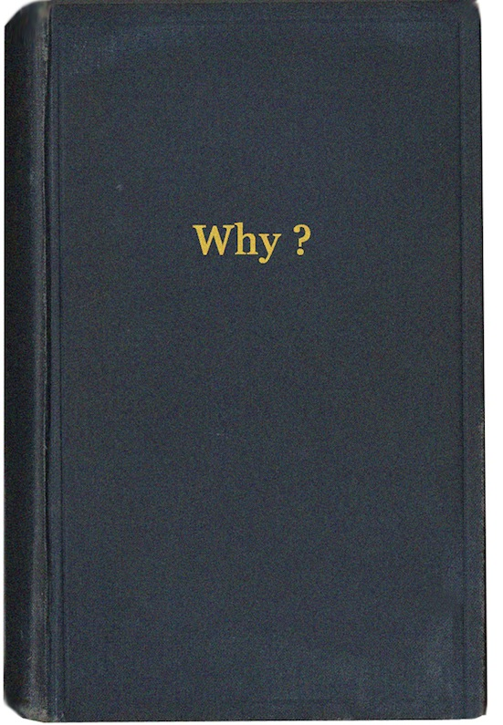 Why? - Book