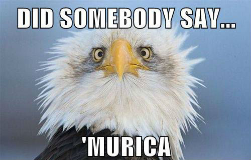 Did somebody say Murica?