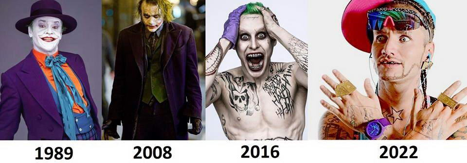 Joker' Evolution