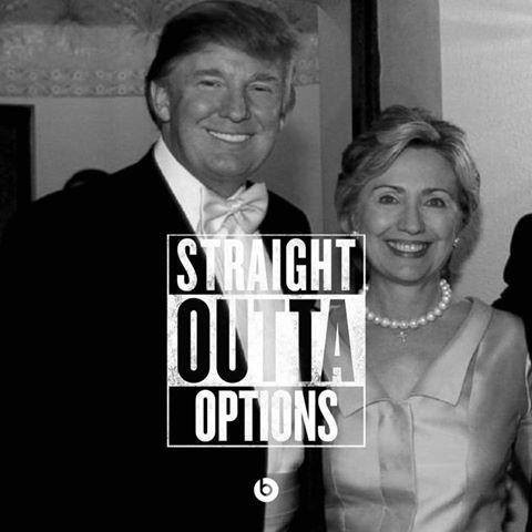 Meme Straight Outta Options