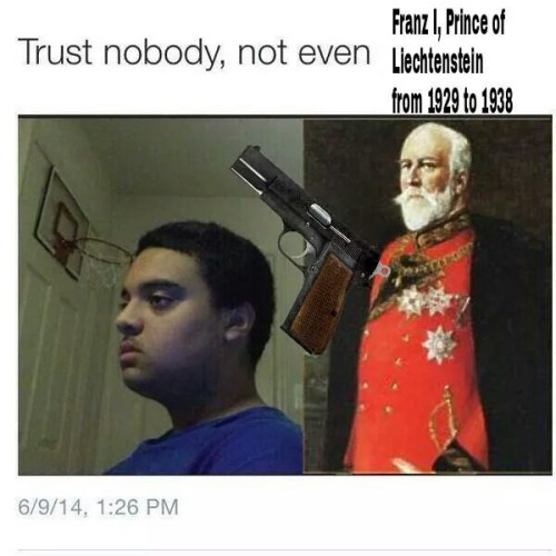 Trust nobody not even Franz 1