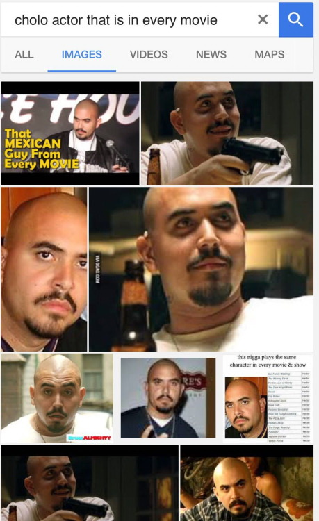 Cholo actor that is in every movie