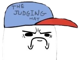 Meme The Judging Hat