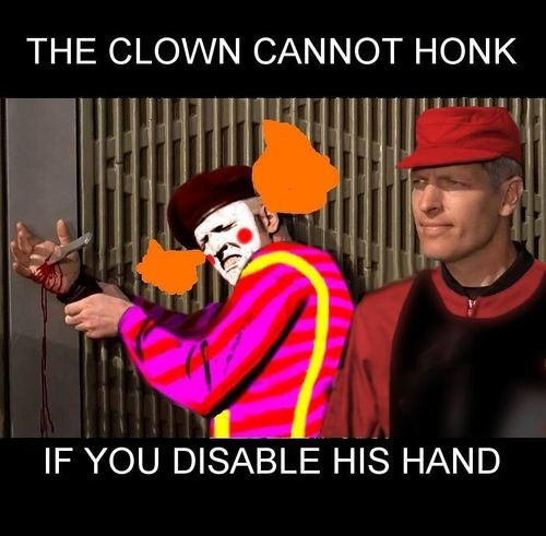 74088500 the clown cannot honk if you disable his hand memes,Hand Memes