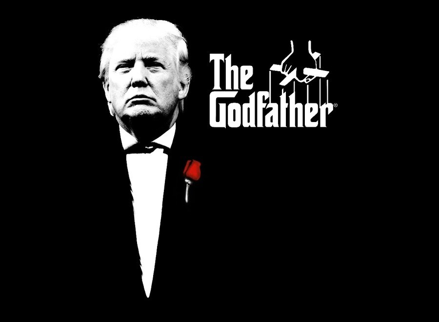 Image result for trump godfather