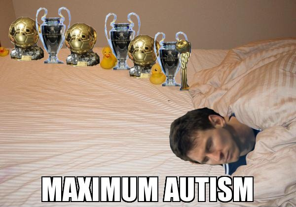 Meme Maximum Autism Messi
