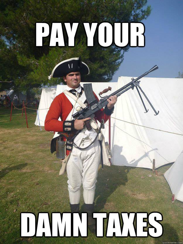 Pay your damn taxes