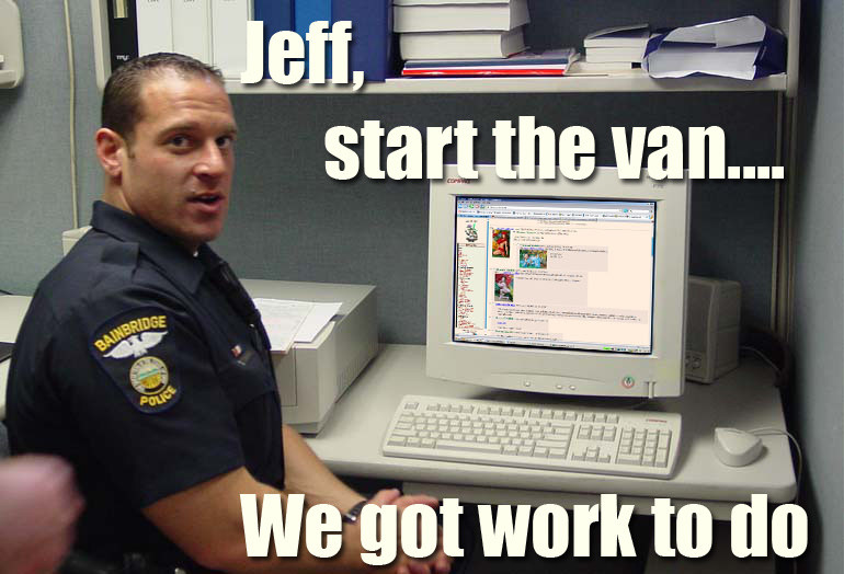 Meme Jeff, start the van - We got work to do