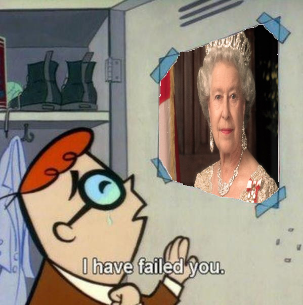 I have failed you - Queen