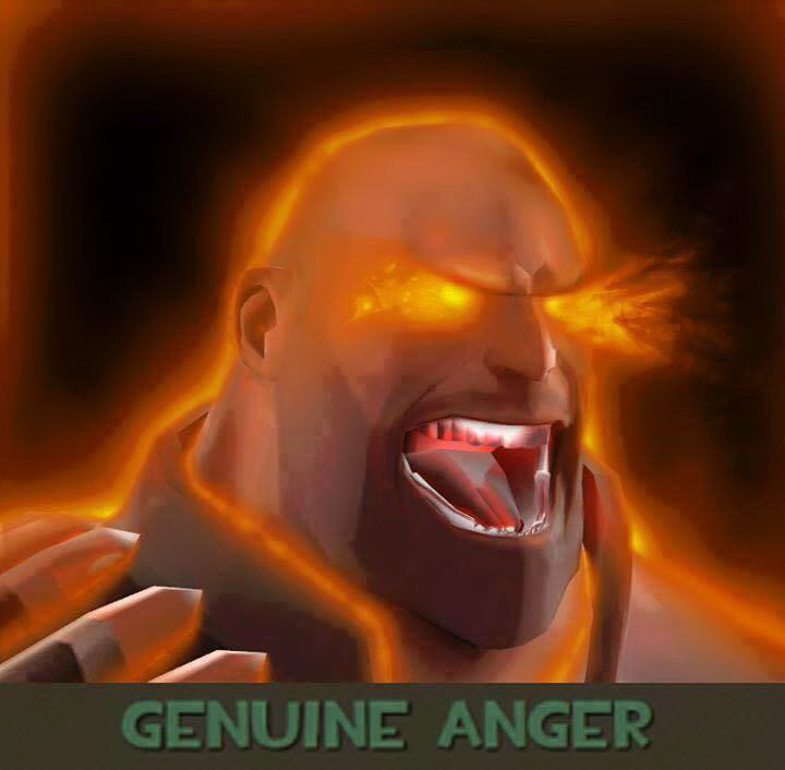 Genuine Anger