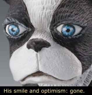 Meme His smile and optimism: gone