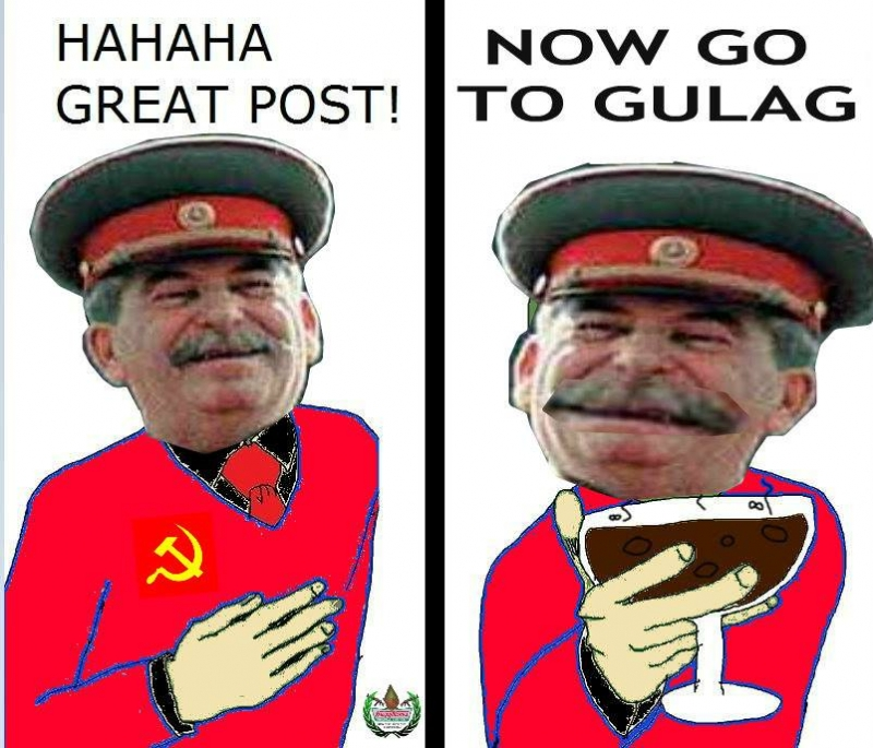 Meme Hahaha great post - Now go to Gulag