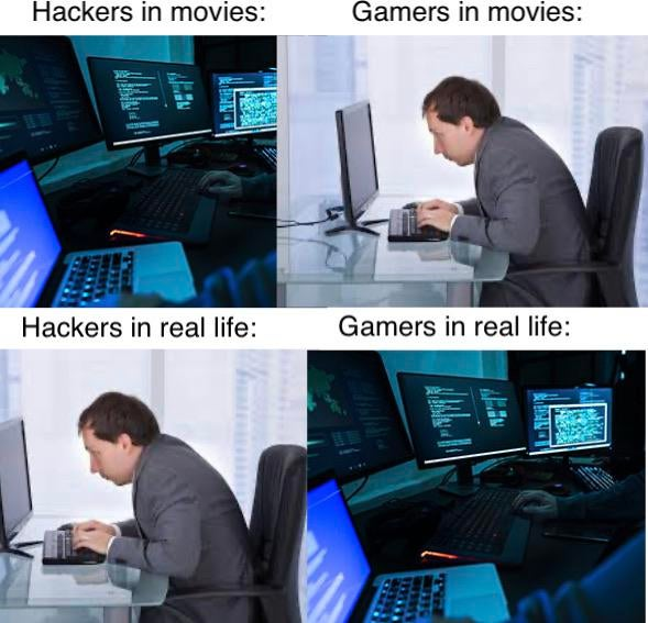Meme Gamers - Hackers